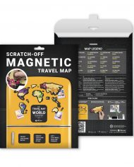 "Scratch Map ""Magnetic World"" packaging"