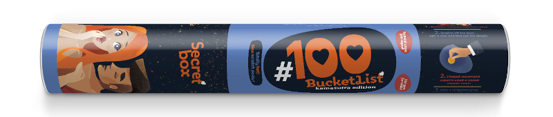 100 bucketlist Kamasutra Edition tube