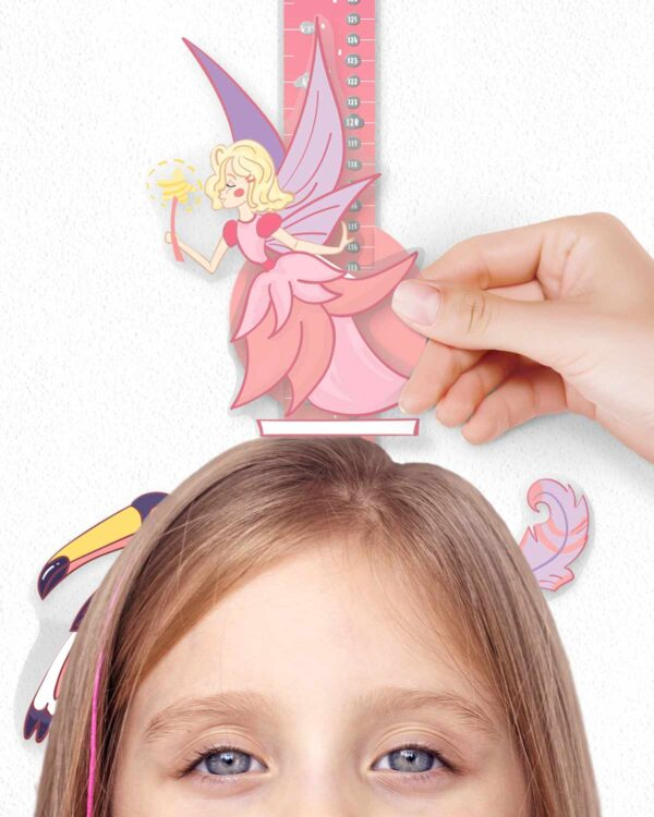 """Scratch-off Wall Growth Chart """"MAGIC ADVENTURES"""" princes"""