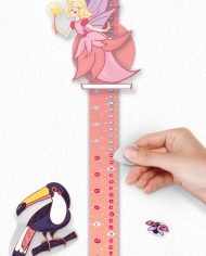 "Scratch-off Wall Growth Chart ""MAGIC ADVENTURES"" hight"