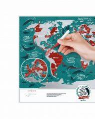"Scratch Map ""Marine World"" travel planing"