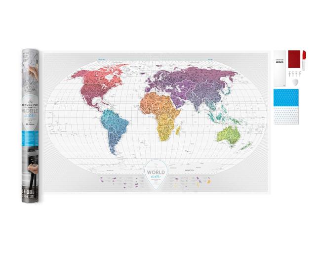 Scratch Map Air World inside content