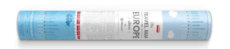 Travel-Map-Europe-Silver_Tube-Horizontal