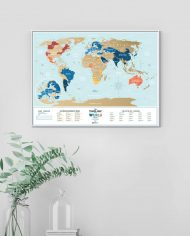 Travel-Map-Holiday-Lagoon-colored