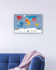 Travel-Map-Weekend-World-Fullscratched