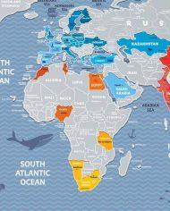 Travel-Map-Weekend-World-Wall-Banner