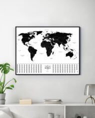 Travel Map Glow_interior