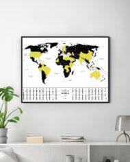 Travel Map Glow_interior_1